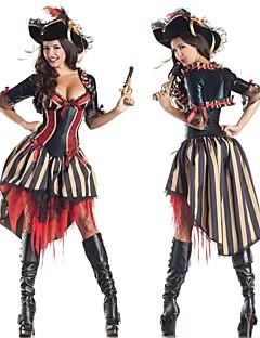 traje do carnaval das mulheres extravagantes adultos pirata