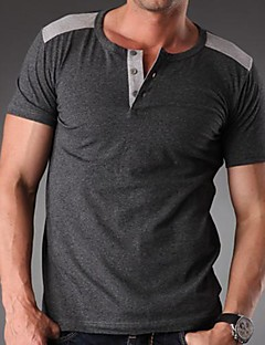 Men's Plus Size Short Sleeve T-Shirt, Casual/Work/Sport