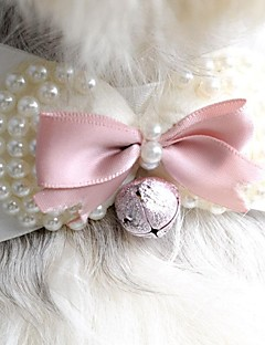Cat / Dog Hair Accessories / Tie/Bow Tie / Hair Bow Pink Dog Clothes Spring/Fall Wedding / Cosplay