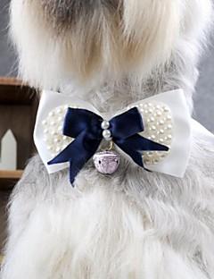 חתולים כלבים קשר כחול בגדים לכלבים קיץ קיץ/אביב סרט פרפר אופנתי חתונה