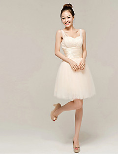 Cocktail Party Dress - Champagne Ball Gown Sweetheart Ankle-length Organza
