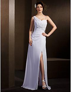 lanting 신부 시스 / 아담 열 / 플러스 웨딩 드레스 바닥 길이 스트랩 쉬폰 크기