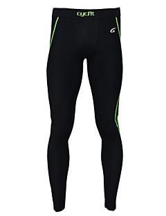 לגברים ריצה מכנסיים בגדים צמודים חותלות טייץ רכיבה על אופניים תחתיות נושם ייבוש מהיר לביש נגד חשמל סטטי ללא חשמל סטטי דחיסה נמתחאביב קיץ