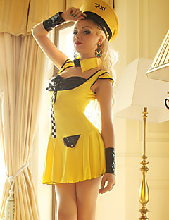 Taxi Driver Cosplay Adult Women's Sexy Uniform