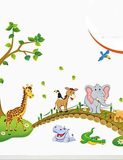 miljømæssige aftagelig lille dyr krydse broen pvc tags&sticker