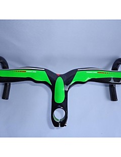 NEASTY Full Carbon Fiber Green color Road Bike Stem Handlebar
