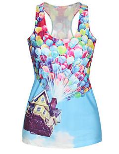 Flying House Mini Tank Dress Night Club Uniform