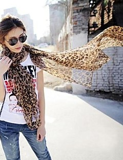 Sjalar ( Leopard ) - i Chiffong/Polyester