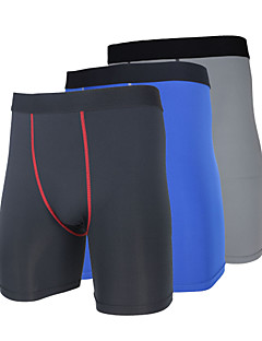 ARSUXEO® Cycling Under Shorts Men's BikeBreathable / Quick Dry / Anatomic Design / Wearable / Antistatic / Limits Bacteria / Reduces