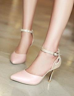 Women's Shoes  Stiletto Heel Pointed Toe Sandals Wedding/Office & Career Blue/Pink/White