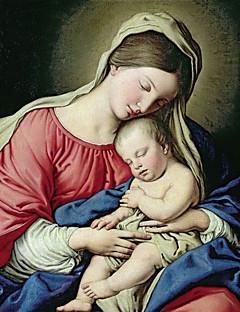 soggetto tela stampata tipo di prodotto artista madonna Gesù holding