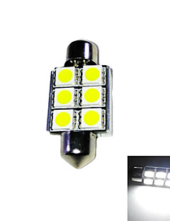 Reading Light/License Plate Light Car CANBUS 6000K/8000K Festoon