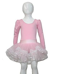 Női Gyermek-Balett Teljesítmény-Tütük & szoknyák(Rózsaszín,Pamut Tüll Lycra