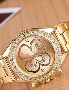 yoonheel Dámské Módní hodinky Hodinky na běžné nošení Křemenný Kov Kapela Zlatá