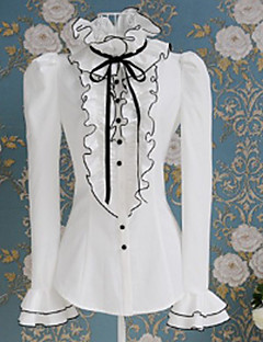 Puff Long Sleeve White Sweet Princess Lolita Blouse