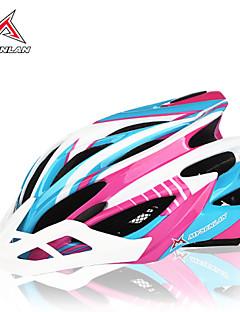 MYSENLAN Women's Mountain Sports Half Shell Cycling Helmet 28 Vents Cycling Helmet