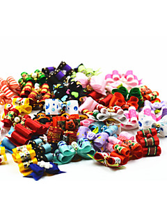 Cat Dog Hair Bow Hair Accessories Multicolor Dog Clothes Summer Spring/Fall Bowknot Cute Birthday Holiday