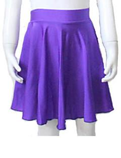 ラテンダンス チュチュスカート 女性用 子供用 演出 ナイロン ライクラ 1個 スカート
