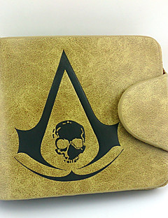 Taška / Peněženky Inspirovaný Assassin's Creed Connor Anime a Videohry Cosplay Doplňky Peněženka Żółty Pánský / Dámský