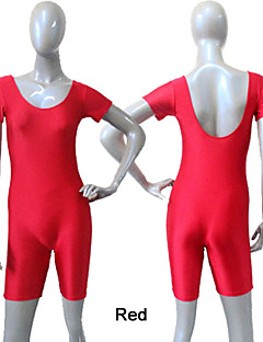 Nylon/Lycra Short Sleeve Unitards More Colors for Girls and Ladies