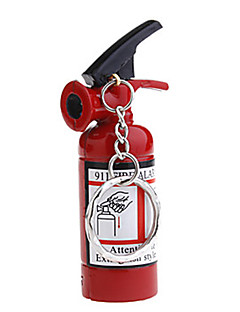 Mini-Feuerlöscher Stil Butanfeuerzeug mit Schlüsselanhänger