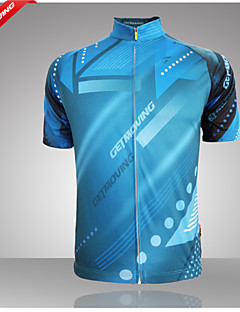 Getmoving® Cycling Jersey Women's / Men's Short Sleeve BikeBreathable / Anatomic Design / Ultraviolet Resistant / Moisture Permeability /