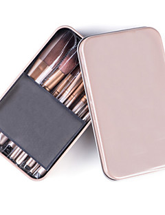 12PCS Cosmetic Professional Brush Set with Box