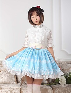 Sky Blue  Sweet  Lolita  Crystal Light Story  Skirt Lovely Cosplay