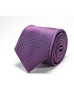 Herrer Slips,Kontor / Fritid Polyester,Trykt mønster
