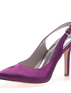 Women's Shoes Satin Stiletto Heel Pointed Toe Pumps/Heels Wedding Shoes More Colors available