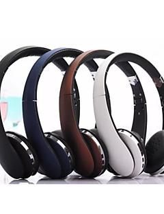 אוזניות אוזניות אלחוטיות מתקפלות סטריאו מתקפל עם מיקרופון ביטול רעש& סוללת ליתיום-יון נטענת