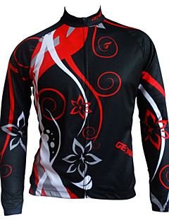Getmoving® Cycling Jersey Women's / Men's / Kid's / Unisex Long Sleeve Bike Breathable / Anatomic Design / Anti-Insect / Back Pocket
