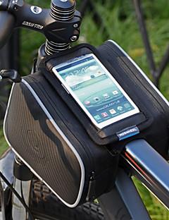 Bolsa para Quadro de Bicicleta / Bolsa Celular / Bolsa de Ciclismo Multifuncional / Touch Screen Ciclismo PVC / Póliester 600D Outras