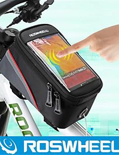 Torba na rower rama - Wielofunkcyjne ( Zielony/Czerwony/Niebieski , PVC/Tactel/600D polyester ) 1.8 L Kolarstwo