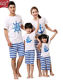 CCGS®Family's Fashion Joker Leisure Parent Child  Short sleeve T Shirt Parentage Clothing