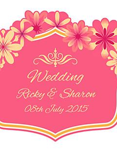- Personalisierte Etiketten/Personalisierte Sticker Durchschlagpapier Rosa