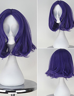 Seraph of the End Chess Belle Synthetic Short Wavy Light Purple Color Anime Cosplay Wig