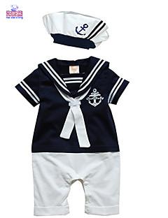 Boy Cotton Overall & Jumpsuit , Summer Short Sleeve