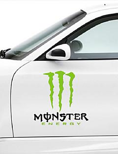 MonsterEnergy Car Sticker Car Body Decoration Sticker Size:35CM