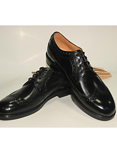 Men's Shoes Wedding/Office & Career/Party & Evening/Casual Leather Oxfords Black