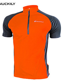 NUCKILY® Cycling Jersey Women's / Unisex Short Sleeve BikeWaterproof / Breathable / Quick Dry / Moisture Permeability / Totally