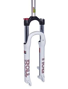 DFS  ROLL-LC  Cycling/Mountain Bike Forks Aluminium Waterproof/Adjustable  Suspension Forks Black/White