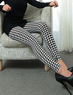 Vrouw Print Legging,Katoenmixen Medium