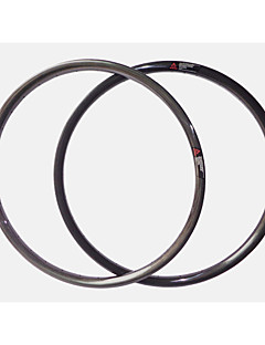 NEASTY Brand  29er 3k Glossy Full Carbon Fiber MTB Bicycle Rim Carbon Black