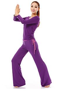 baotao ® ternos yoga para mulheres 100% algodão BT70