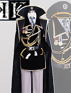 Anime <K > K Project The Missing King Yashiro Isana Military Uniform CosplaySuit
