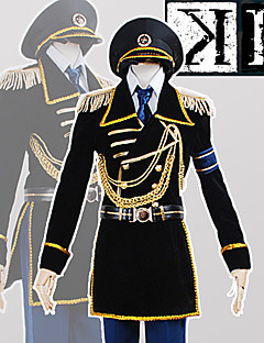 Anime <K > K Project The Missing King Fushimi Saruhiko Military Uniform CosplaySuit