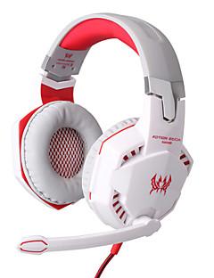 EACH G2000 Наушники с микрофоном для видеоигр, смартфона, PC, Регулятор громкости