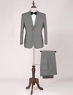 Standaard pasvorm - Smokings ( Meerkleurig , Wool & Polyester Blended , 2-delig )