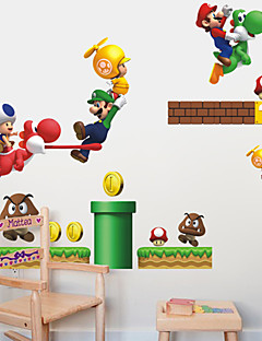 wall stickers wall decals stil mario pvc wall stickers